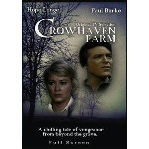 """""""Crowhaven Farm"""" (1970) starring Hope Lange, Paul Burke and Lloyd Bochner is one of my favorite made for TV movies that first aired as part of ABC's Movie of the Week.  It is another classic example of Aaron Spelling's early productions. Horror."""