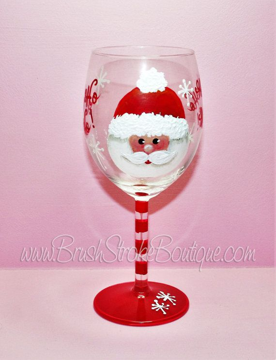 The 49 best images about christmas glasses on pinterest for Christmas painted wine glasses pinterest