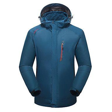 Homens Mulheres Jaquetas 3-em-1 Manter Quente Respirável Anti-desgaste Jaquetas 3-em-1 para Correr Acampar e Caminhar Alpinismo Inverno de 6121465 2017 por R$230,14