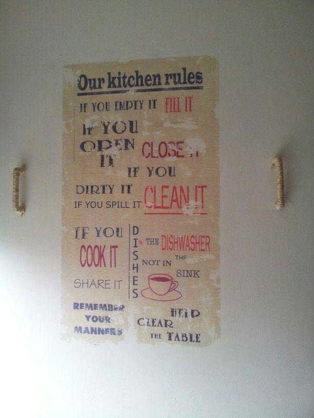 Keuken regels