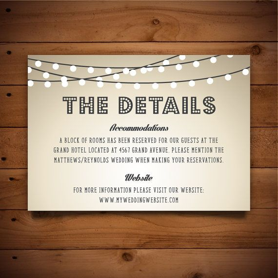 14 best Details Card + Information Card Templates images on - information templates