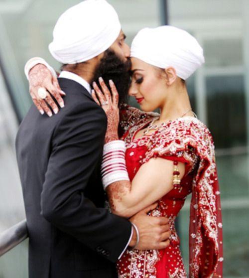 sikh brides: traditional sikh weddings