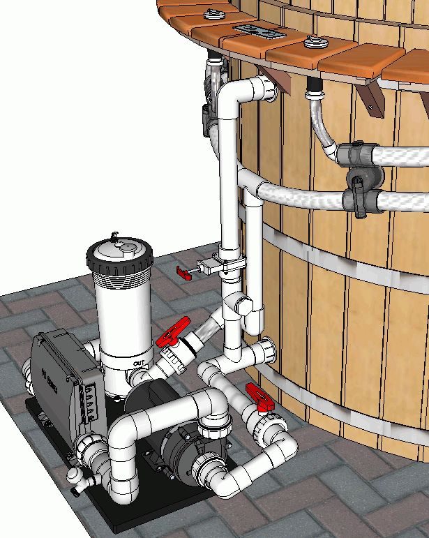 hot tub plumbing diagram | Baths, pools, hot tubs and hot