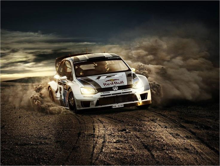 La Polo WRC en action