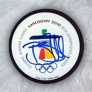 BRENT SEABROOK 2010 Olympic Games Logo SIGNED Puck by AJ Sports World. $49.00. This Hand-Signed Hockey Puck has been beautifully and personally autographed by Brent Seabrook. To protect your investment, a Certificate Of Authenticity and tamper evident hologram from A.J. Sports World is included with your purchase for an unconditional lifetime guarantee of authenticity.