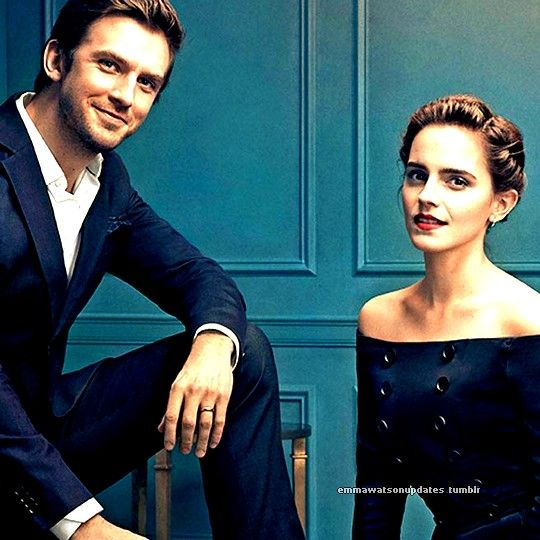 Emma Watson and Dan Stevens cover Parade - US (March 12, 2017)