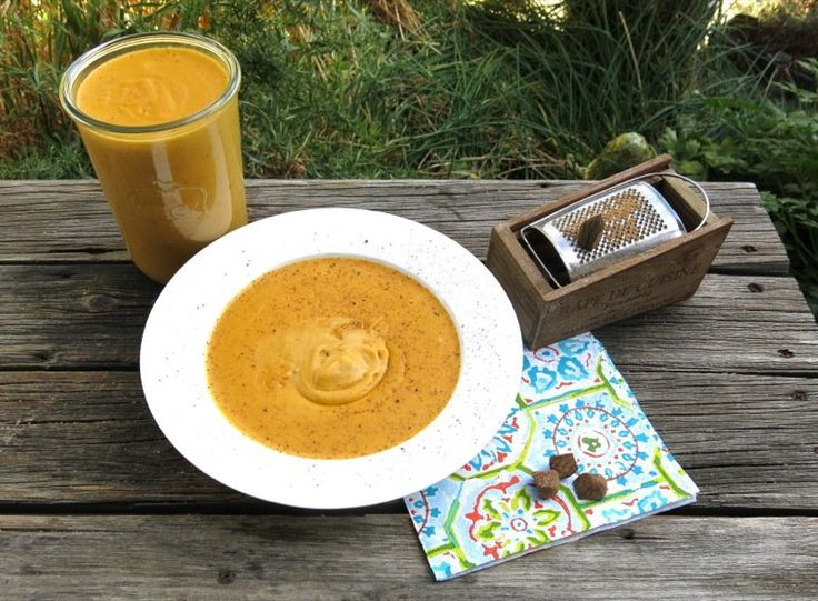 Thermomix Sweet Potato Soup Made with Yams