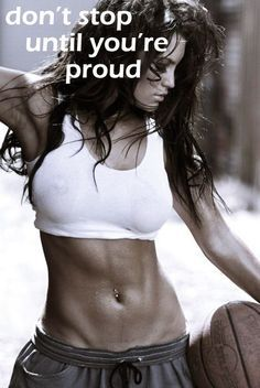Don't stop until you're proud of what you have become! http://www.onesteptoweightloss.com/piyo-workout-results #FitClub