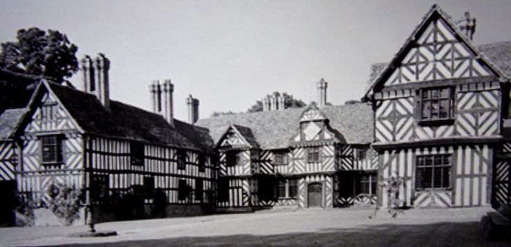 The centre wing of Pitchford Hall