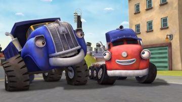 Трактаун - Сокровища грузовичков - Новый мультик про машинки - Грузовик Джек и его друзья http://video-kid.com/9924-traktaun-sokrovischa-gruzovichkov-novyi-multik-pro-mashinki-gruzovik-dzhek-i-ego-druzja.html  Знакомься! Это красный грузовичок Джек и его друзья! Все они живут в городке под названием Трактаун, и каждый день они весело играют вместе и заводят новых друзей. В четвертой серии друзья-грузовички отправляются в гости к верзиле Биг Ригу. На обратном пути они сбиваются с пути из-за…