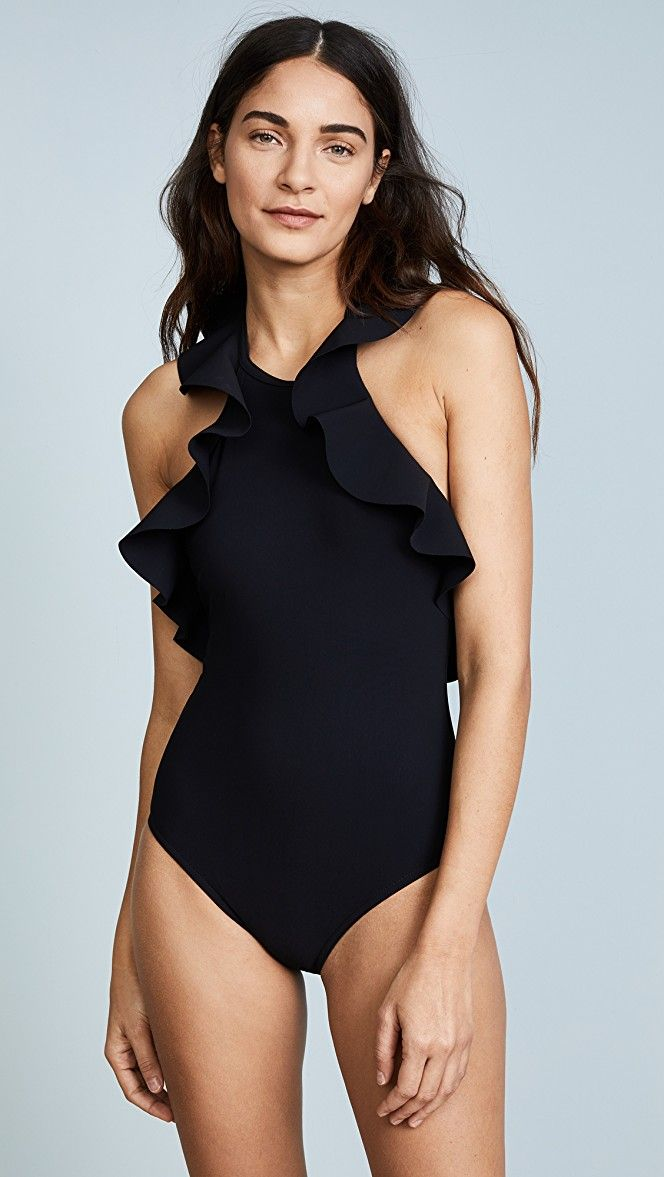acfe46c53ce31 Karla Colletto Zaha High Neck One Piece   15% off 1st app order use code:  15FORYOU