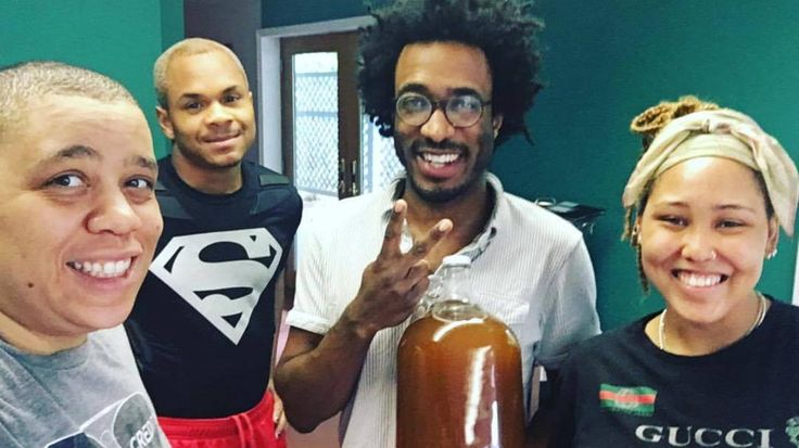 At Black Star Line Brewing, racial uplift and intersectionality are entwined with every beer they brew, right down to their queer-farmed hops.