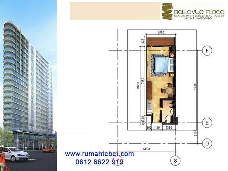 Apartemen Bellevue Place Tebet Type Studio