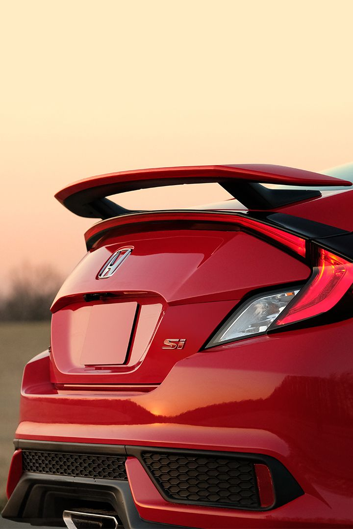 From Track To Turnpike, The Honda Civic Si Sedan Is Ready For Adventure.