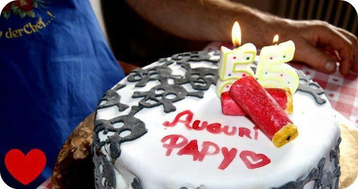 Daddy' bday cake