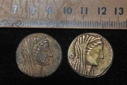 2300 jaar oude munten gevonden in Egypte