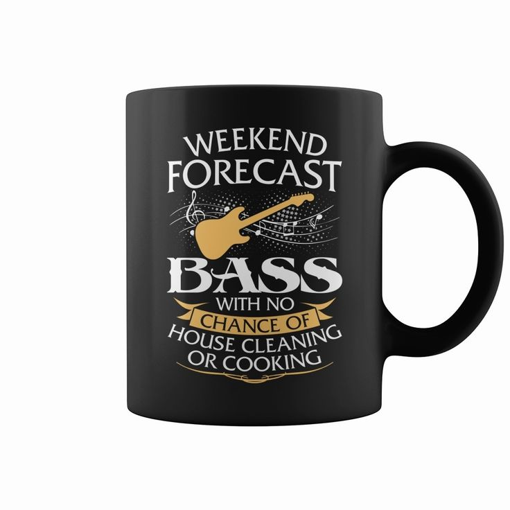 Weekend Forecast Bass #Guitar With No Chance Of House Cleaning Or Cooking Mug, Order HERE ==> https://www.sunfrog.com/Music/115888488-477542908.html?47759, Please tag & share with your friends who would love it , #christmasgifts #birthdaygifts #renegadelife