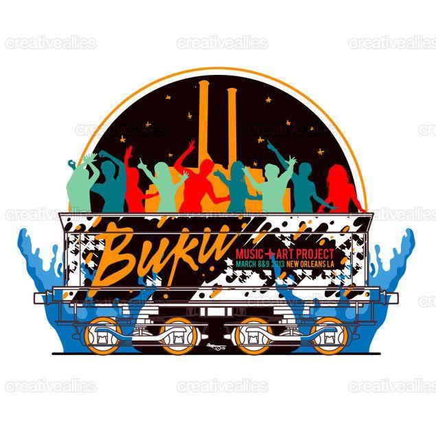 Buku Music + Art Project Merchandise Graphic by ihsan. kl on CreativeAllies.com