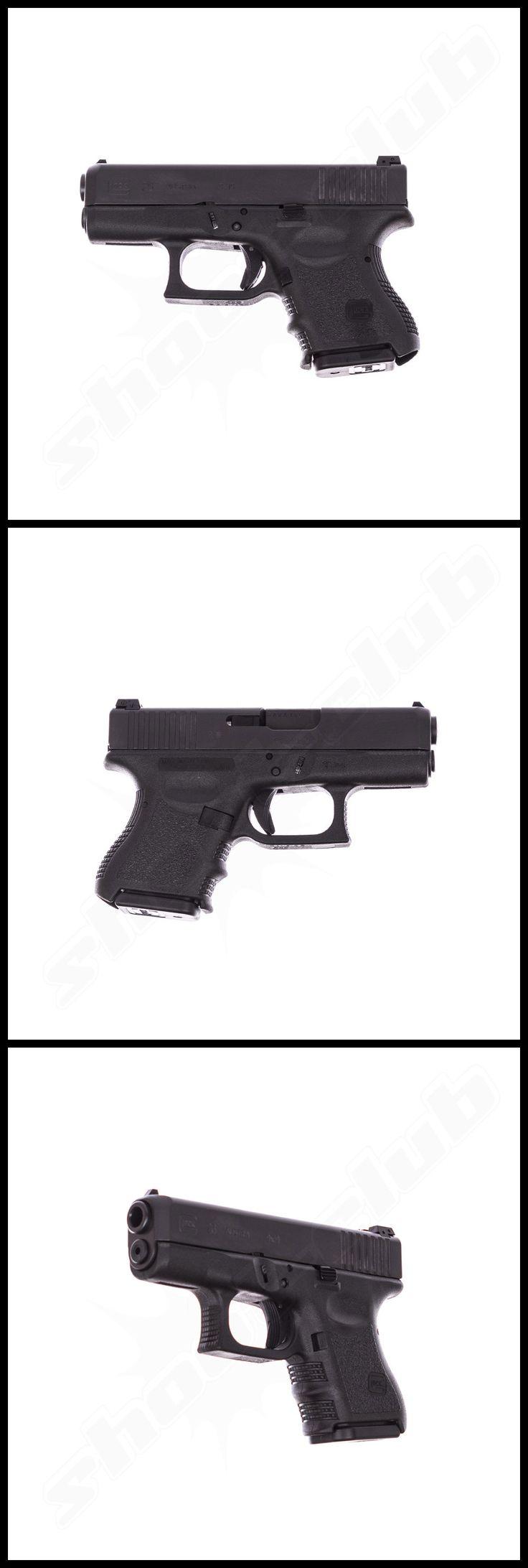 """Glock 26 Gen 3 Pistole im Kal. 9mm Luger - """"Baby"""" Glock - weitere Informationen und Produkte findet Ihr auf www.shoot-club.de - #shootclub #pistol #pistole #9mm"""