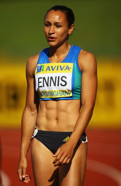 Jessica Ennis- for winning the Gold in the Olympic Heptathlon which seems pretty hardcore, even compared to other Olympic sports. Too jealous of her abs.