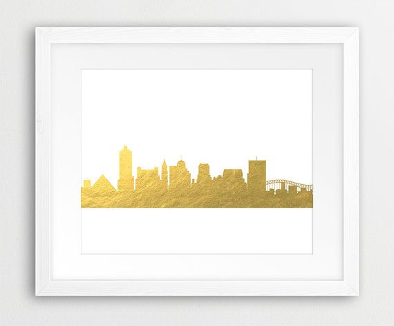 Memphis Skyline Printable File Memphis City Skyline by synplus
