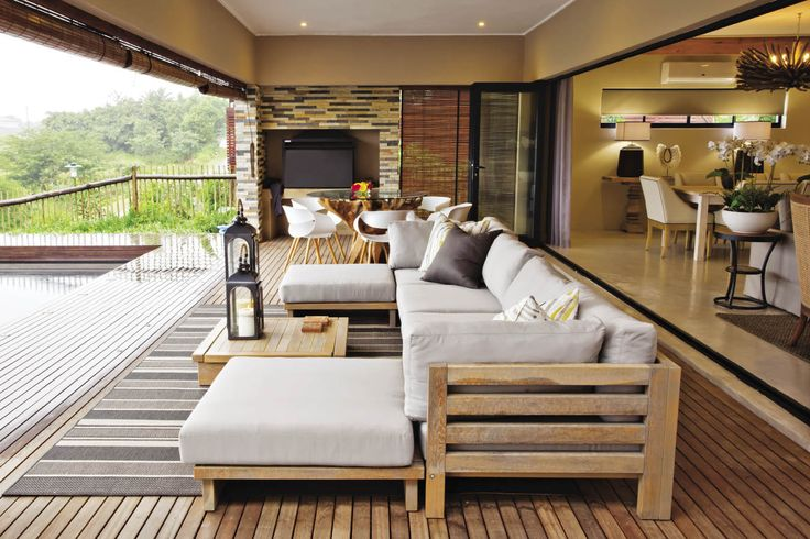 This home is situated in a popular eco-estate on the KwaZulu-Natal coast. It's a new build with three en-suite bedrooms and a guest loo, which happens to be one of the owner's favourite rooms in the house.