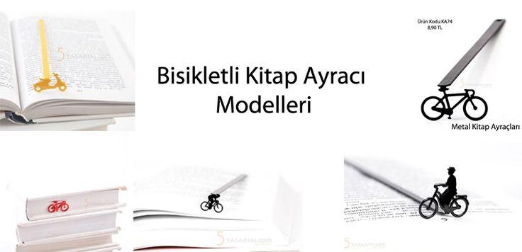 2016 yeniyıl hediyesi bisikletli kitap ayracı modelleri