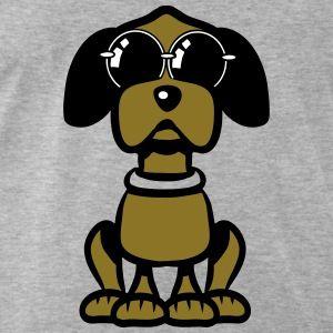 Afbeeldingsresultaat voor cartoon hond met zonnebril