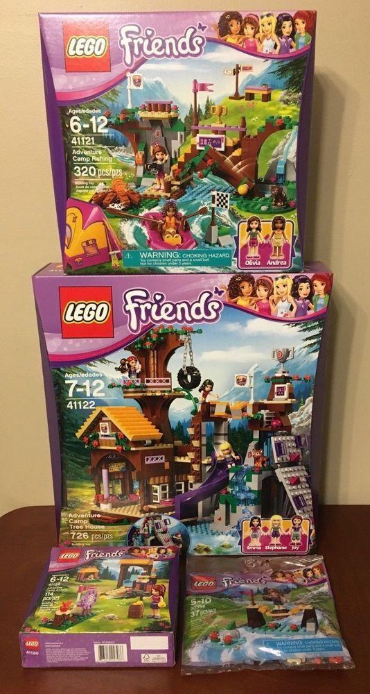 Lego Friends Adventure Camp Klippdesign
