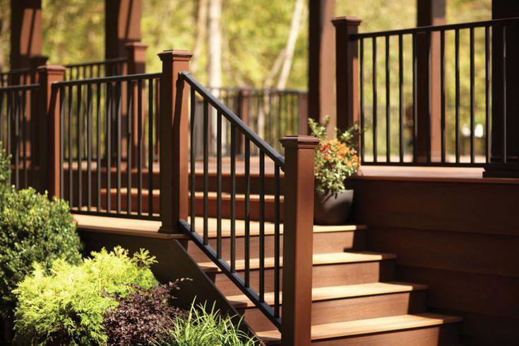 trex post sleeves with aluminum railing | Trex Railing is backed by a 25-year Limited Residential Warranty. For ...