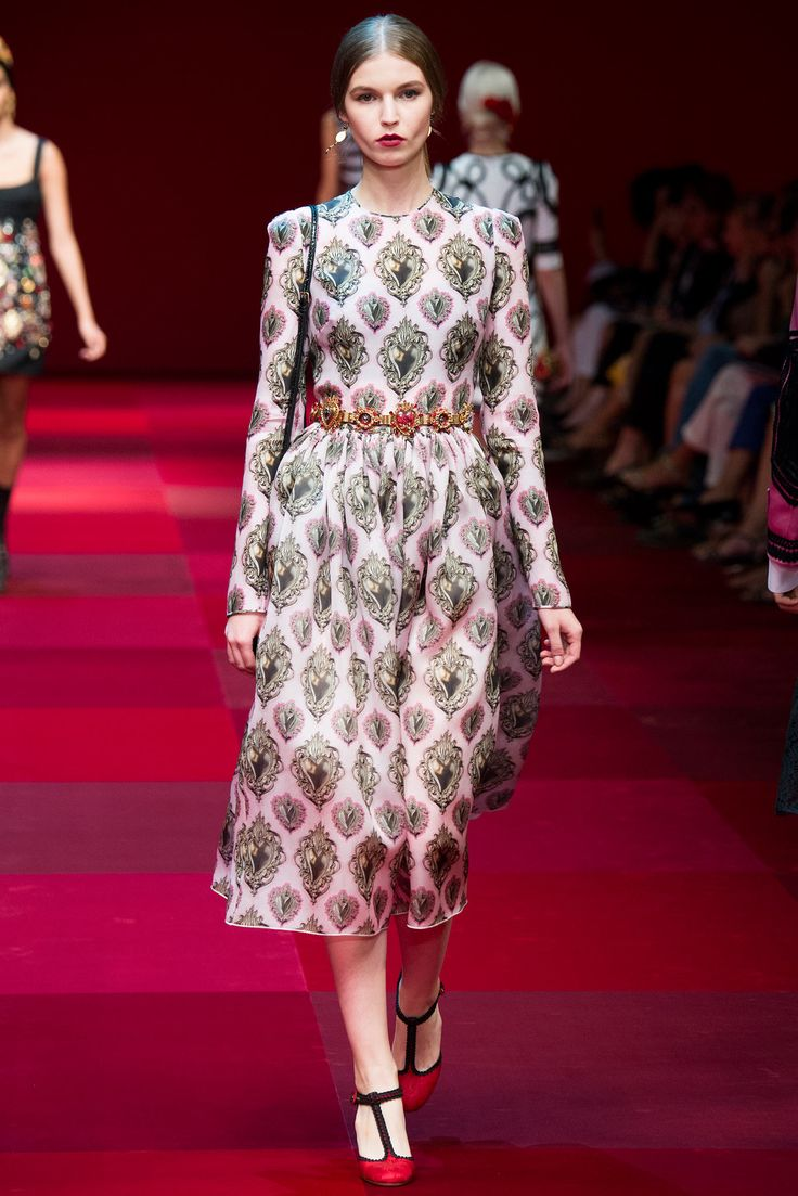Dolce & Gabbana spring 2015 ready to wear collection.