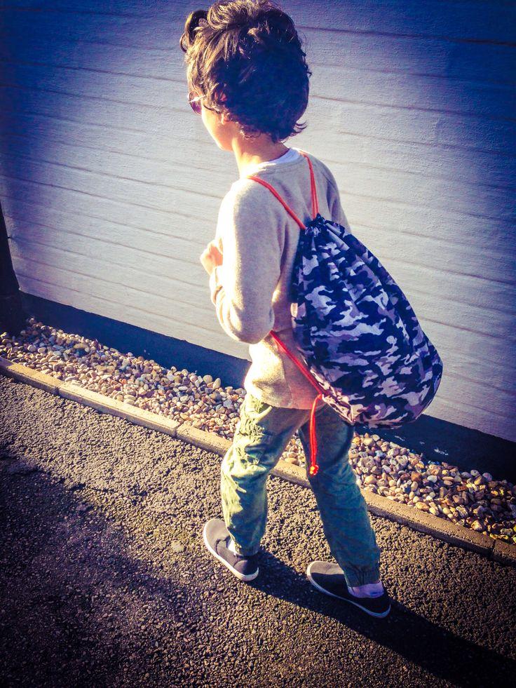 Camoflage fashion boy