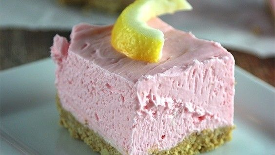 No Bake Strawberry Lemonade Cheesecake is simple to make and is a great treat for those hot summer days!