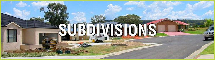 There are several steps involved in subdividing a land. Thus it may become a time-consuming task. The simplest of the subdivisions may take 3-4 months for completion while the larger or more complicated ones may take a lot more time. In spite of the fact that there are a few statutory time periods that are associated with subdivision process, the time taken for completing a subdivision rests totally with an applicant.