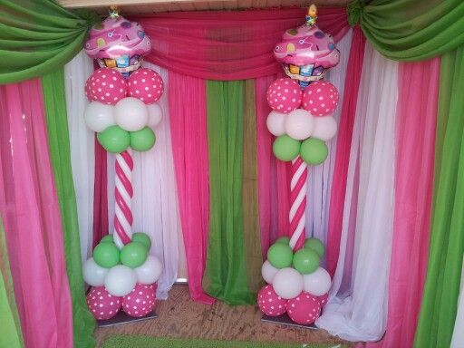 Decoracion de cup cake | Globos Decoraciones | Pinterest