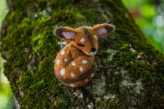 bambi brooch by themimiclothingshop on Etsy