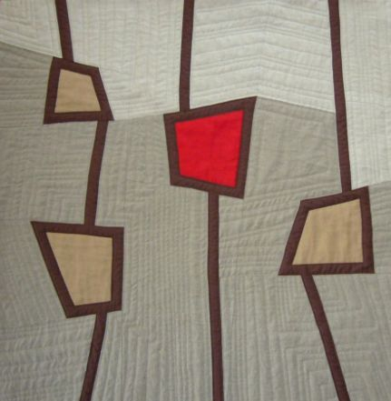Modern Quilt Poppies | Quilty Quilt Quilt | Pinterest