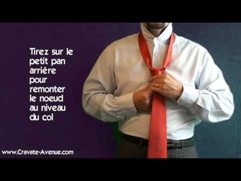 LE NOEUD DE CRAVATE SIMPLE : Comment faire un noeud de cravate?
