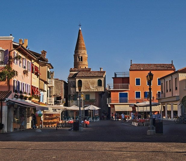 the historic centre of #Caorle, #Italy
