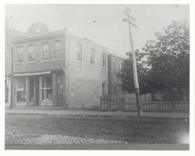 W.B. Murphy's Confectionary and Candy Store on Prince Street, Truro, Nova Scotia, circa 1900.