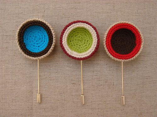 ooo  crochet pins
