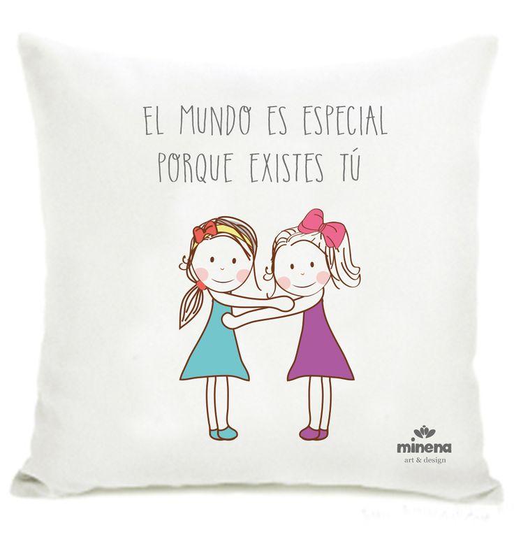Hermosa almohada de la amistad para decorar tu habitaci n for Decora tu habitacion online