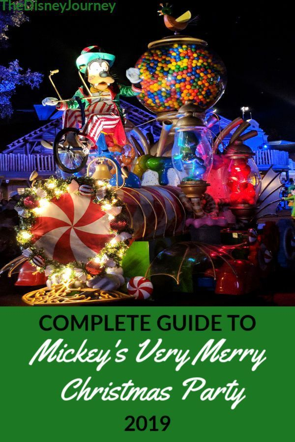 Complete Tip Guide To Mickey S Very Merry Christmas Party 2019 Will Be Continuously Disney World Christmas Disney Merry Christmas Disney Very Merry Christmas