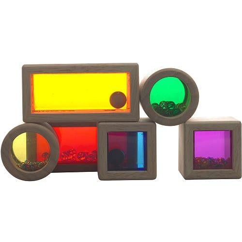 Wonderworld - Rainbow Sound Blocks - Building Blocks - Building Toys - Shop. Open ended toys. #entropywishlist #pintowin