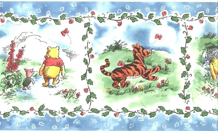Disney Classic Winnie The Pooh with Friends Wallpaper
