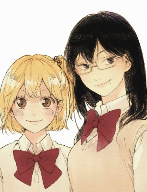 Yachi Hitoka and Shimizu Kiyoko