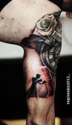 engin şahin - boxer - boksör dövmesi - tattoo artist - dövme sanatçısı - art - tattoo tasarım - arm tattoo - kol dövmesi