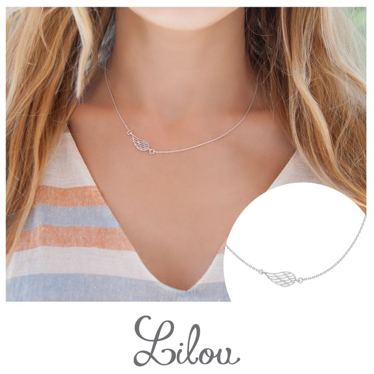 #new #bemylilou #necklace #wing #openwork #fashion