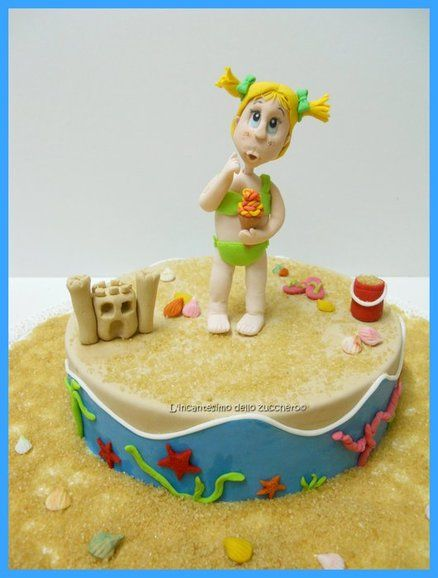 172 best images about Beach/Sea Cakes on Pinterest Beach ...