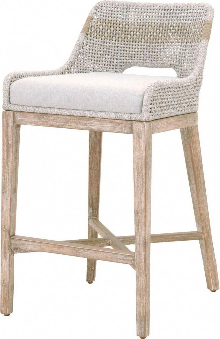 tapestry wicker natural gray barstool in 2020  counter